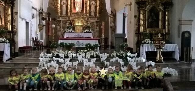 """""""Baranki Boże"""" w kościele"""