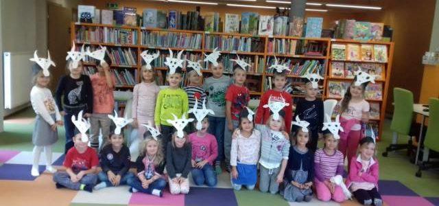 Sówki odwiedziły bibliotekę