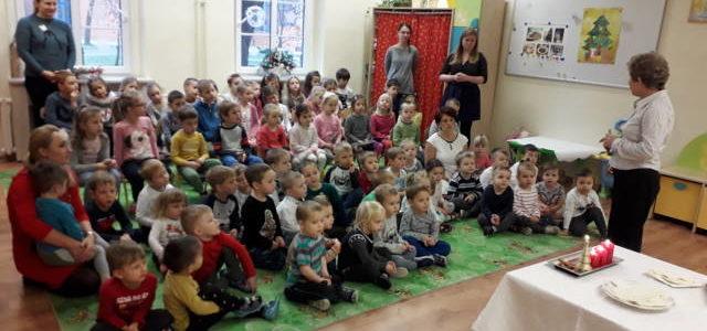 Spotkanie opłatkowe wszystkich przedszkolaków