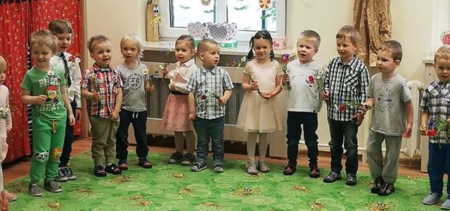 """Dzień Mamy i Dzień Taty w grupie I """"Wróbelki"""""""